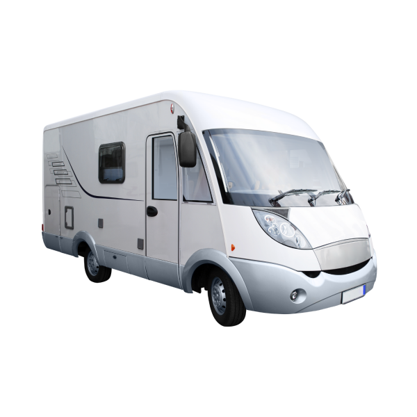 camping car blanc
