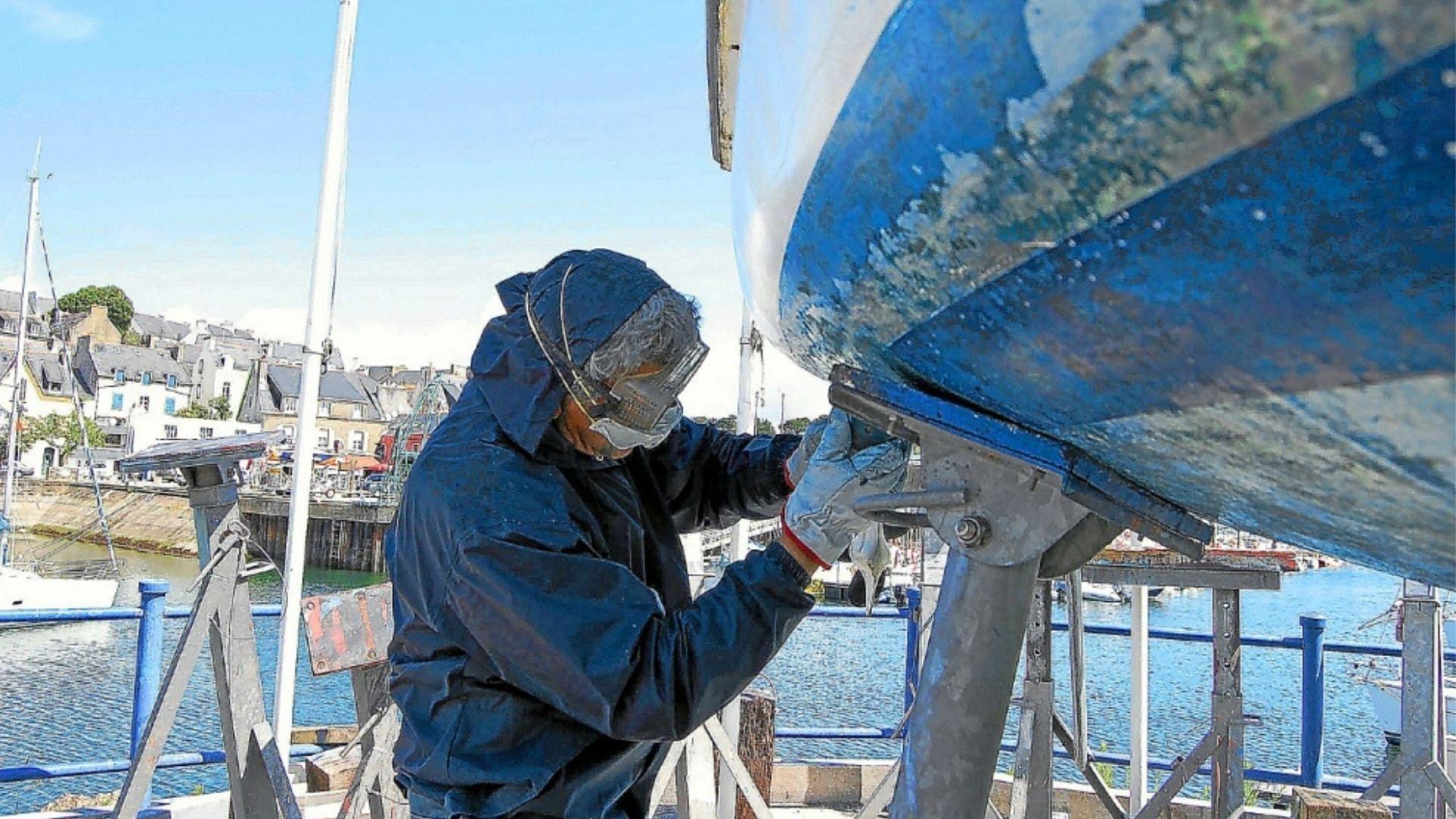 carénage bateau nautisme voilé plaisance mobilité entretien écologique écologie
