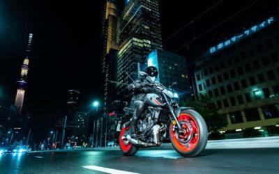 De la nouveauté chez Yamaha: La MT-07 Dark Attraction (2021)