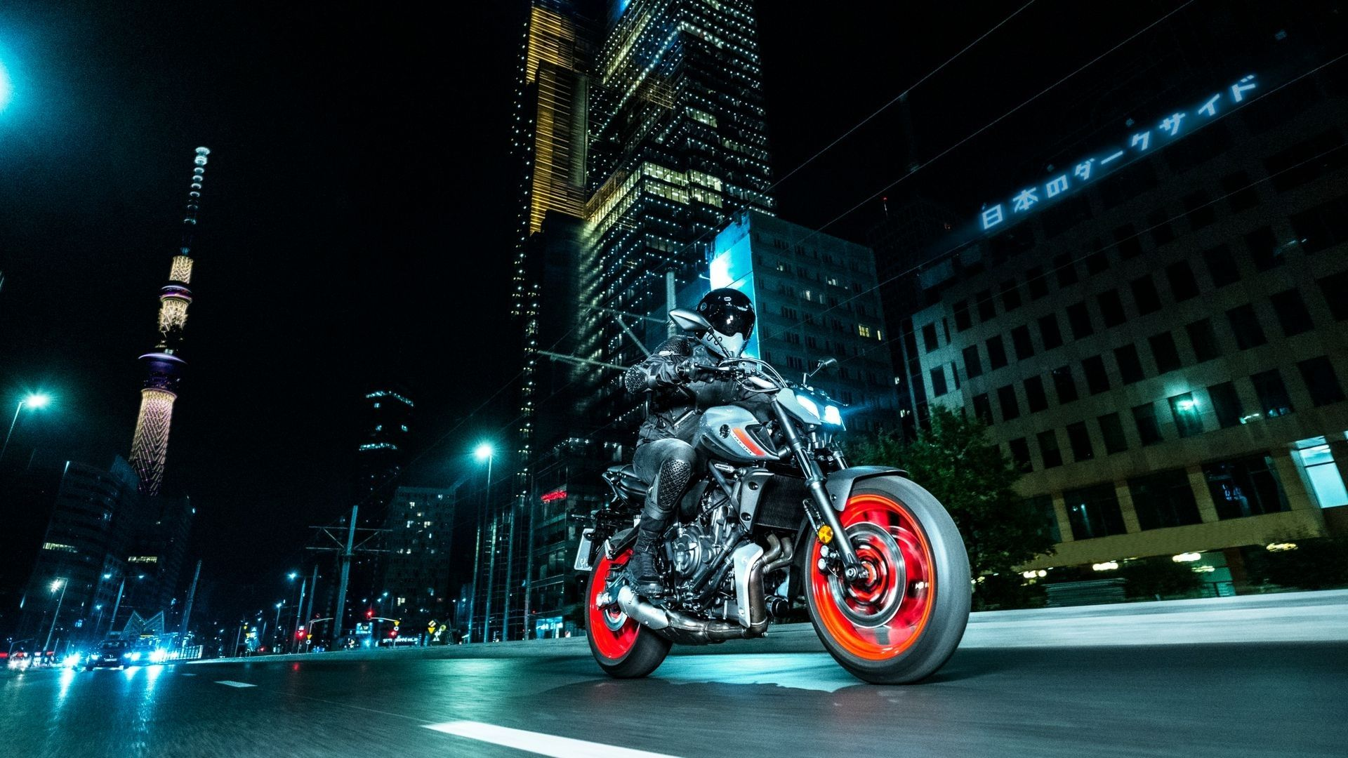 YAMAHA MT07 moto nouveau modèle roadster