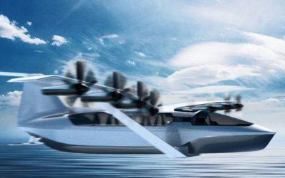 Le futur dans nos ports avec un ferry volant et électrique!