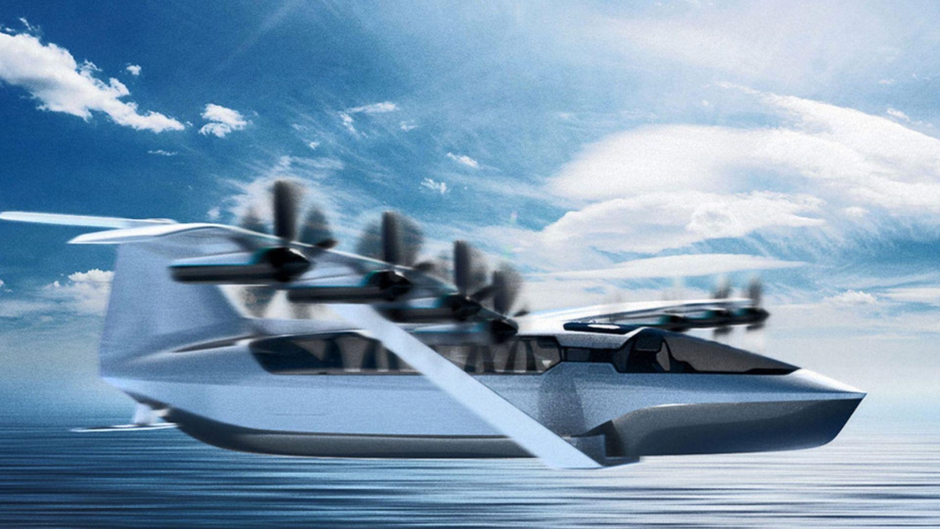 ferry innovation volant électrique écologie futur