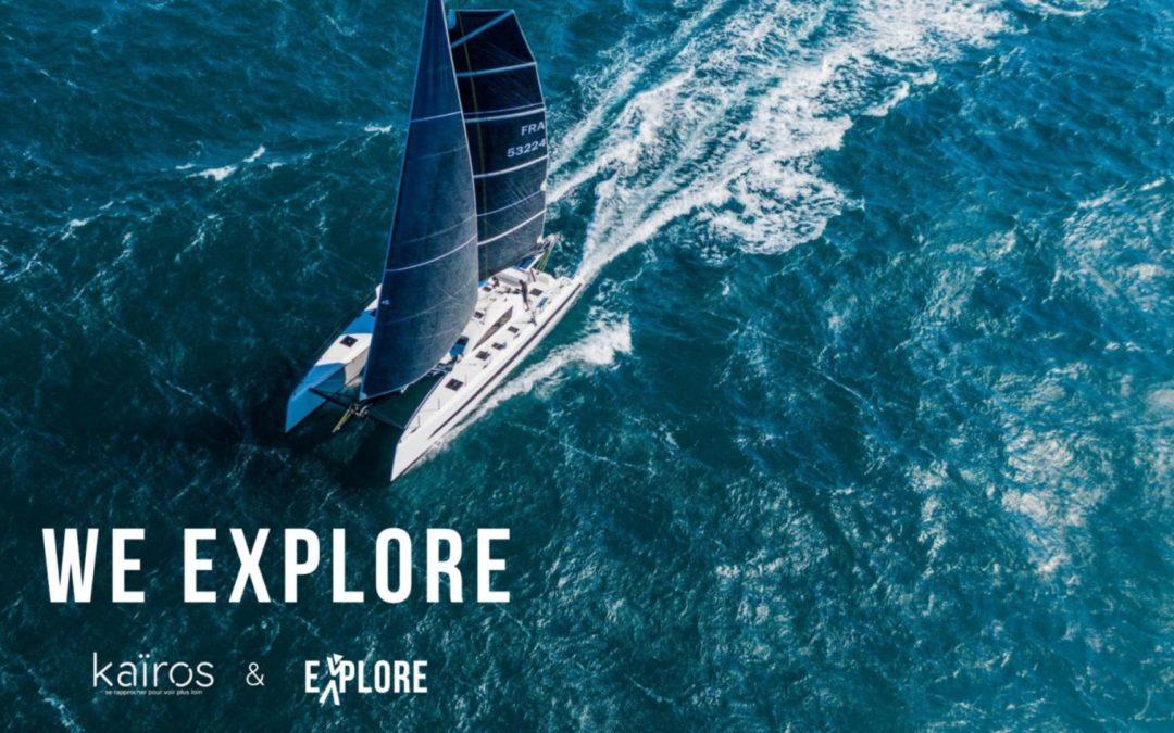We Explore: Un catamaran de 18m en fibre de lin!