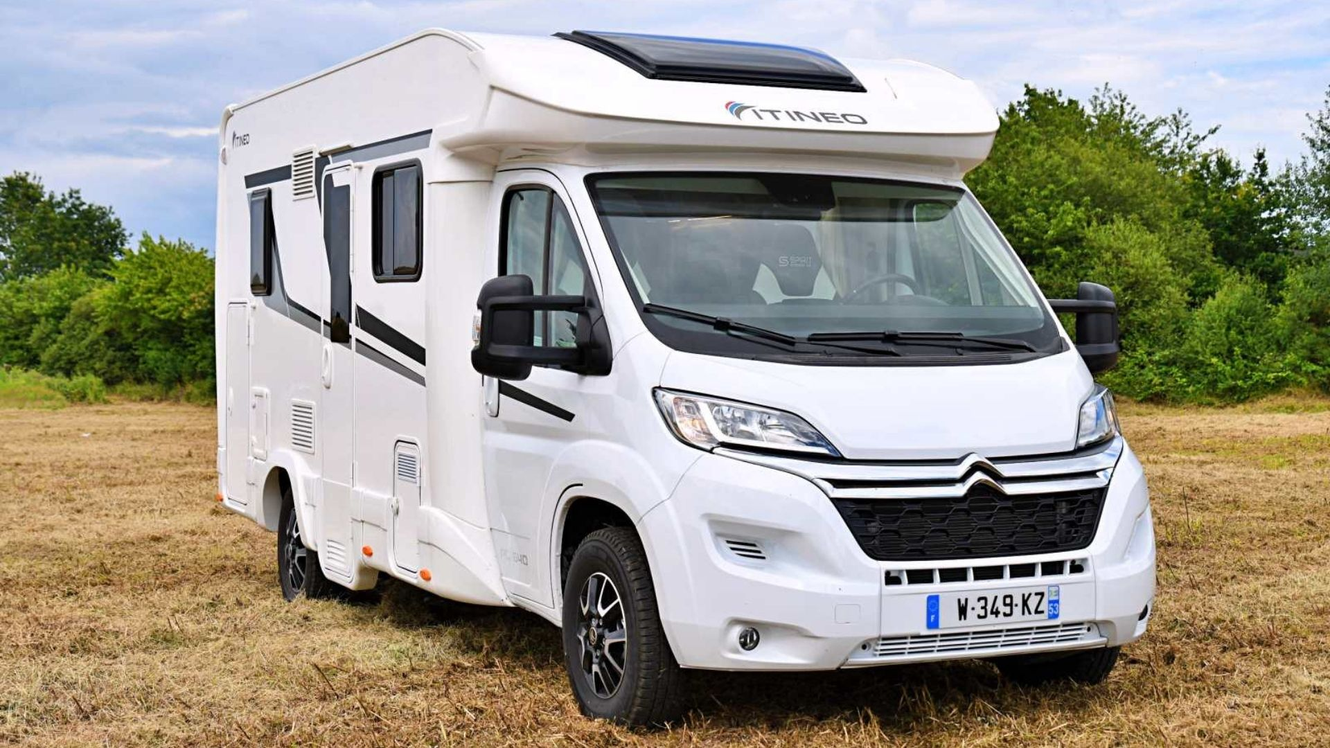 Camping-car Nomad Itineo Traveller voyage voyager camping compact