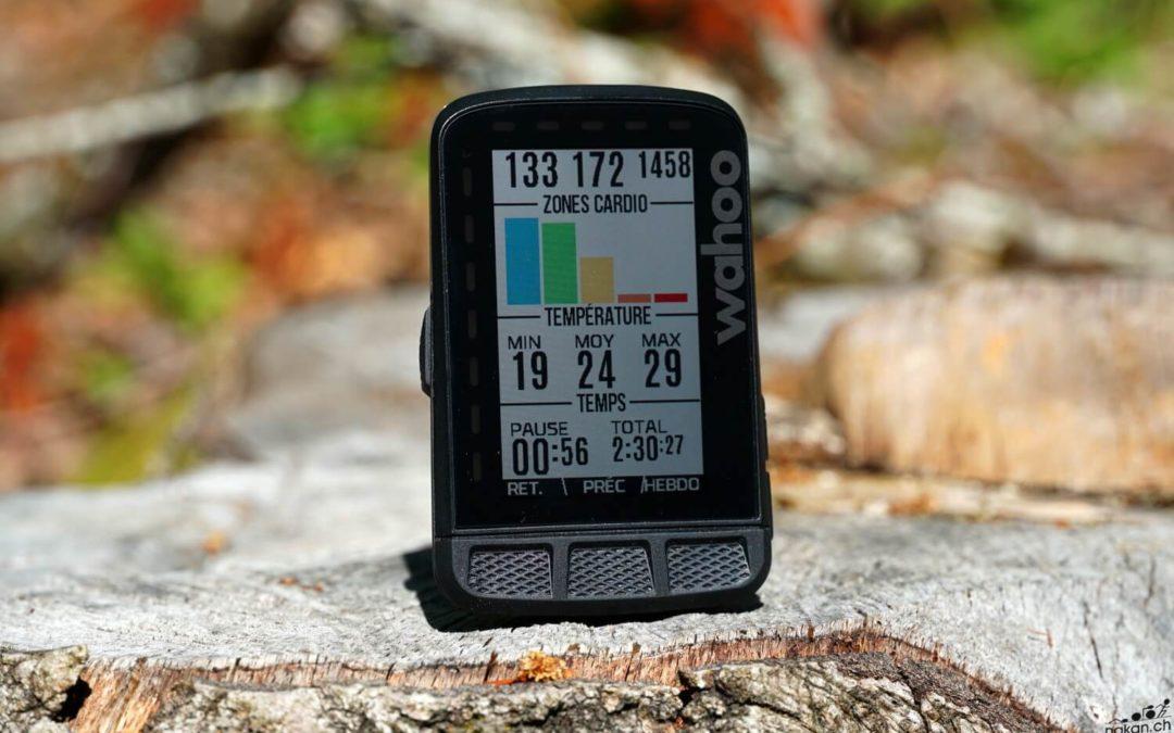 Nouvelle donne chez les compteur GPS:  Wahoo  ELEMNT ROAM !