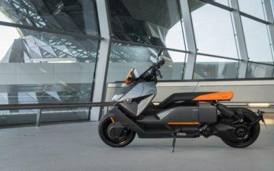 Le scooter CE 04 de BMW, un digne descendant du C-évolution?